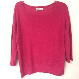 Anthropologie | Pink Sweater
